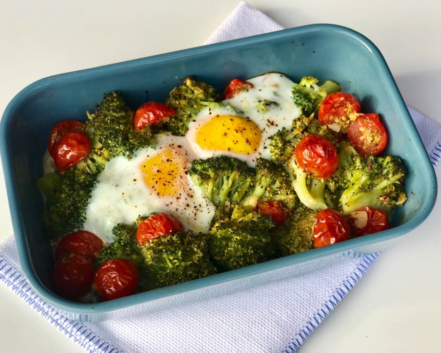 Con fitness cenas huevo