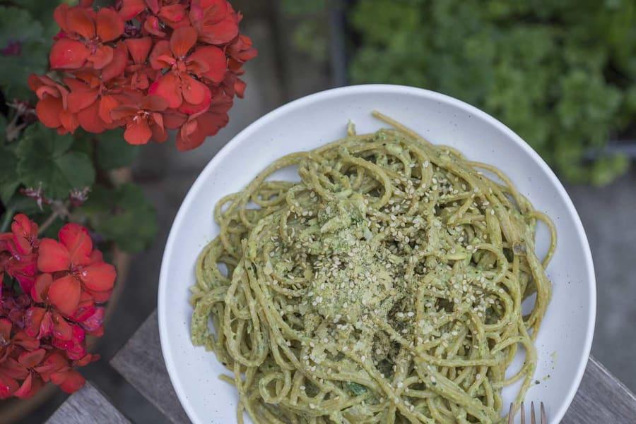 como cocer los espaguetis de calabacin